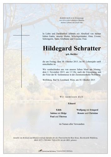 Hildegard Schratter