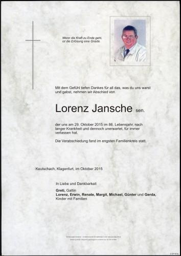 Lorenz Jansche sen.