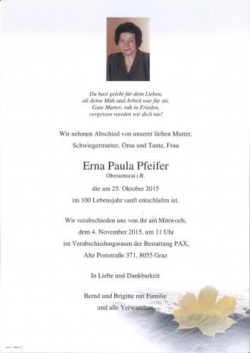 Erna Pfeifer