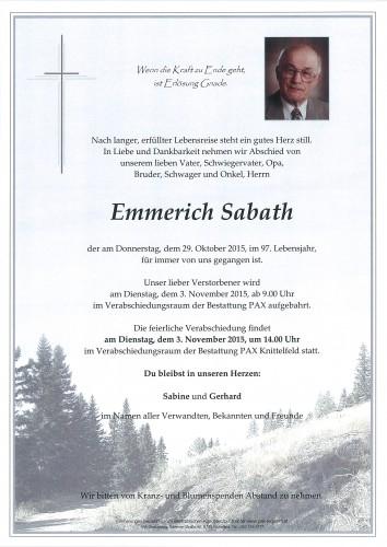 Emmerich Sabath