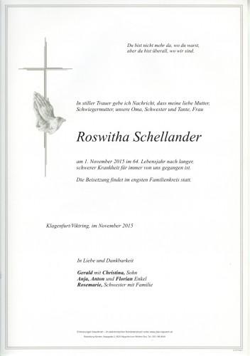 Roswitha Schellander
