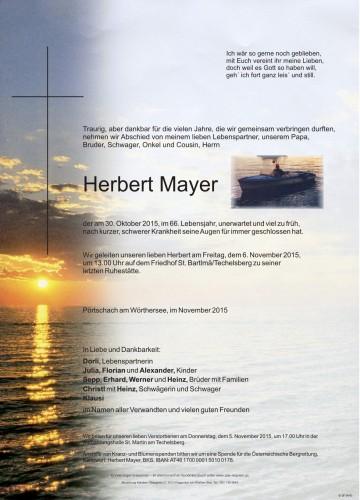 Herbert Mayer