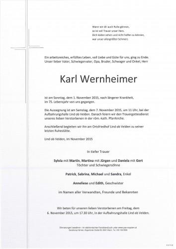 Karl Wernheimer