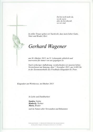 Gerhard Wagener