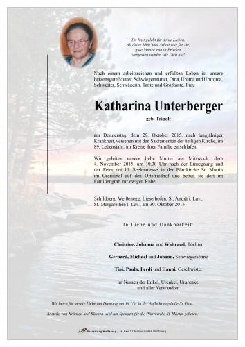 Katharina Unterberger