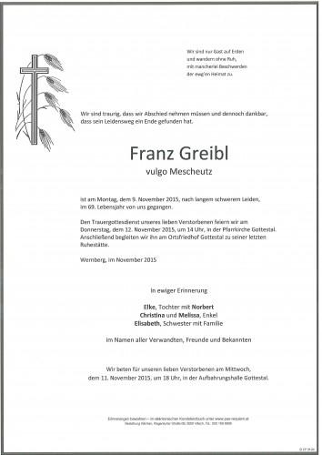 Franz Greibl