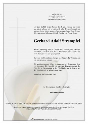 Gerhard Adolf Strempfel