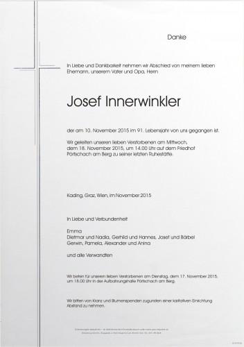 Josef Innerwinkler