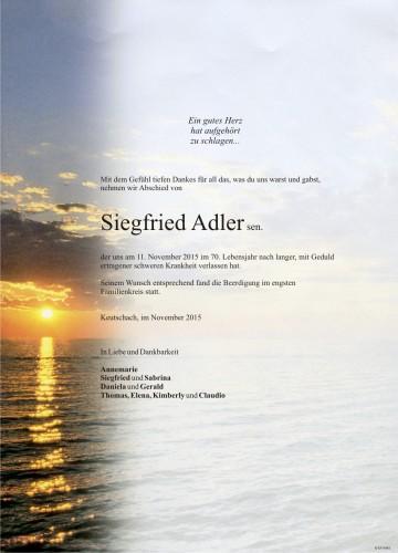 Siegfried Adler sen.