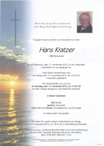 Johann Kratzer