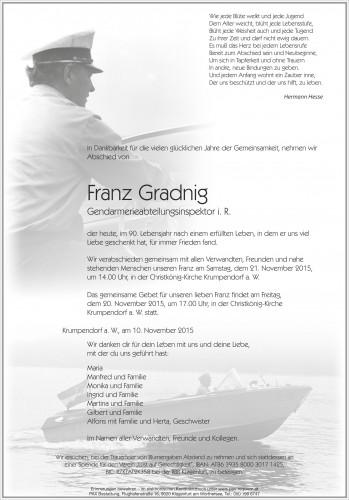 Franz Gradnig