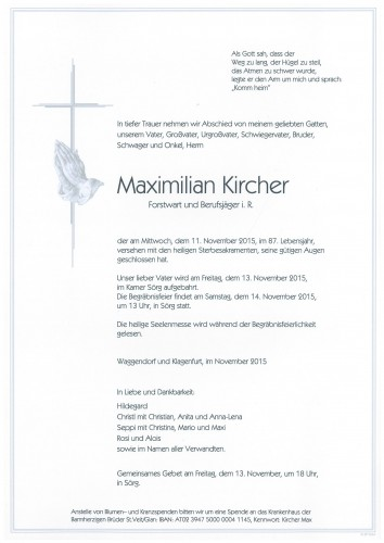 Maximilian Kircher