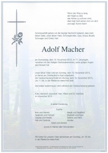 Adolf Macher