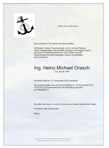 Heinz Michael Orasch Ing.