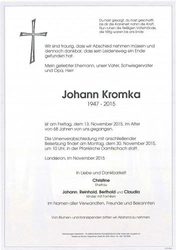 Johann Kromka