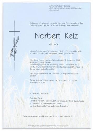 Nobert Kelz  vlg. Lippe