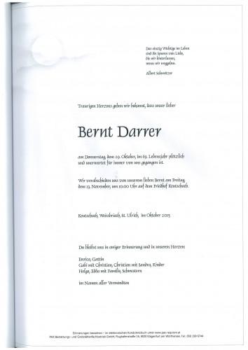 Bernt Darrer