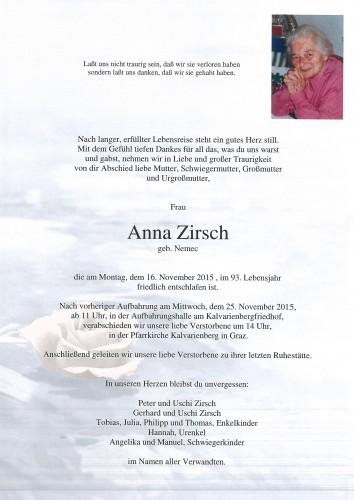 Anna Zirsch