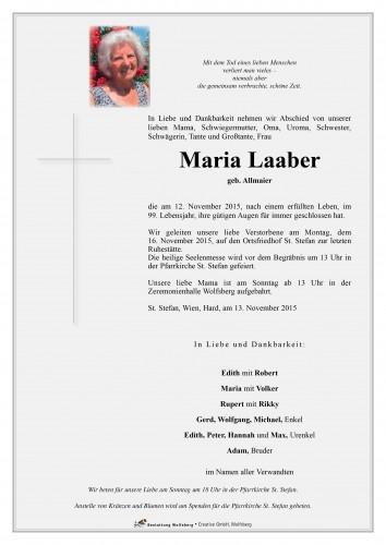 Maria Laaber