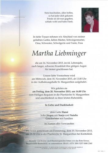 Martha Liebminger