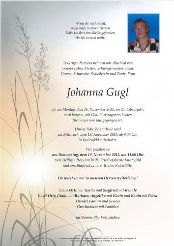 Johanna Gugl