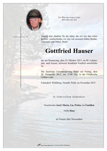 Gottfried Hauser