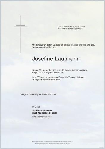 Josefine Lautmann