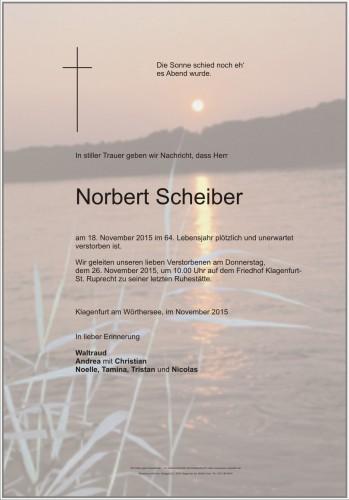 Norbert Scheiber