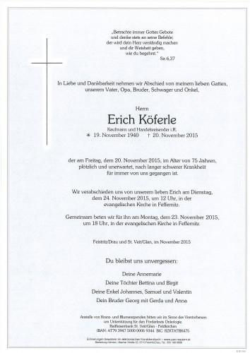 Erich Köferle