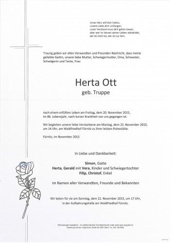 Herta Ott