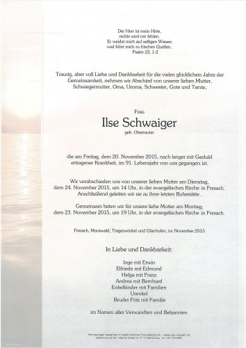 Ilse Schwaiger
