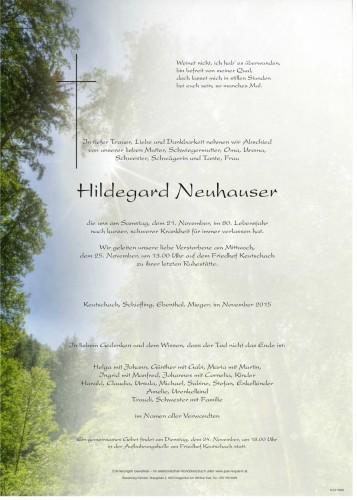 Hildegard Neuhauser