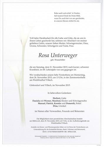 Rosa Unterweger