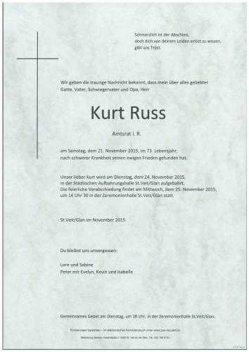 Kurt Russ