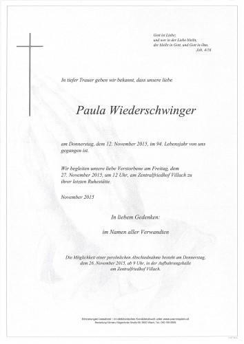 Paula Wiederschwinger