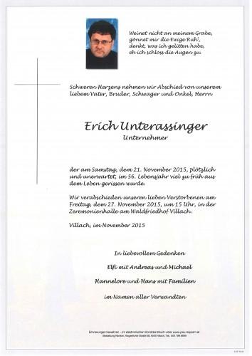 Erich Unterassinger