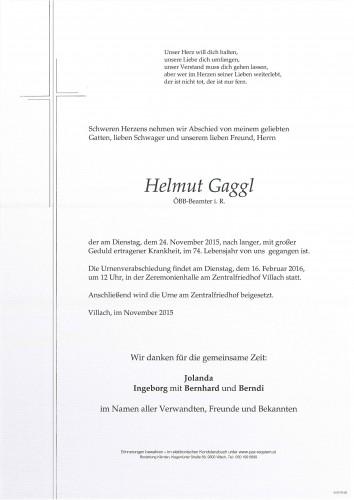 Helmut Gaggl