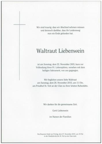 Waltraut Liebenwein