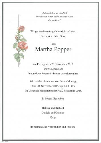 Martha Popper