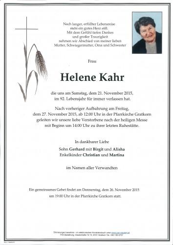 Helene Kahr