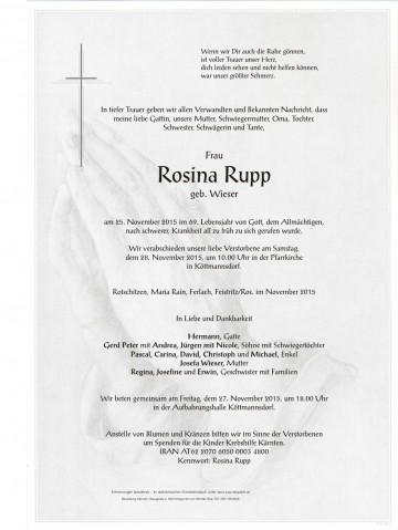 Rosina Rupp