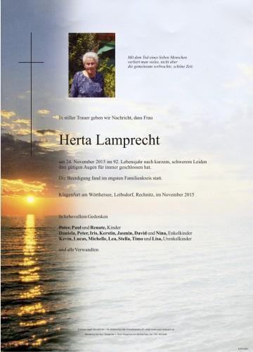 Herta Lamprecht