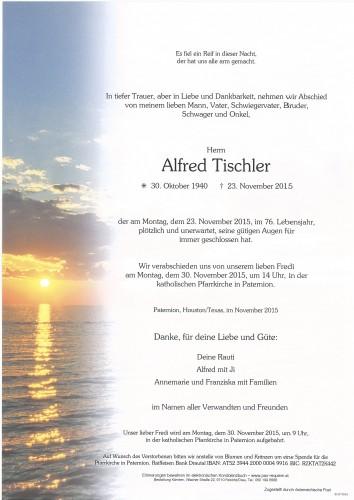 Alfred Tischler