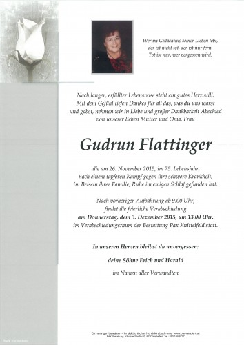 Gudrun Flattinger
