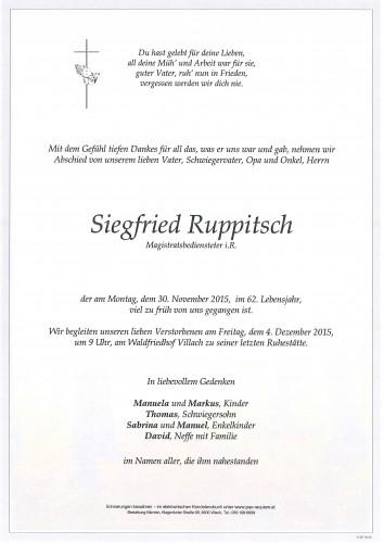Siegfried Ruppitsch