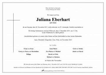 Juliana Eberhart