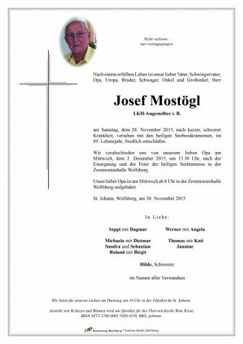 Josef Mostögl