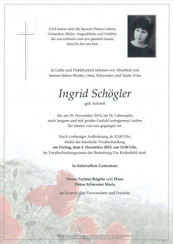 Ingrid Schögler
