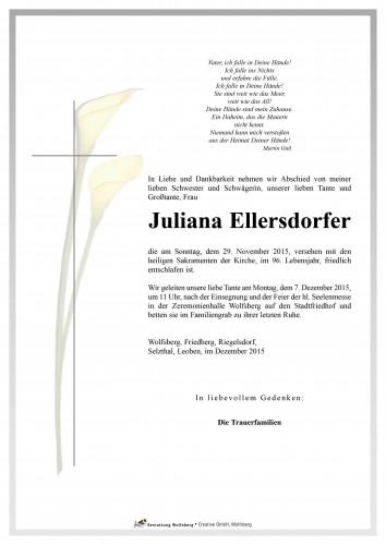 Juliana Ellersdorfer