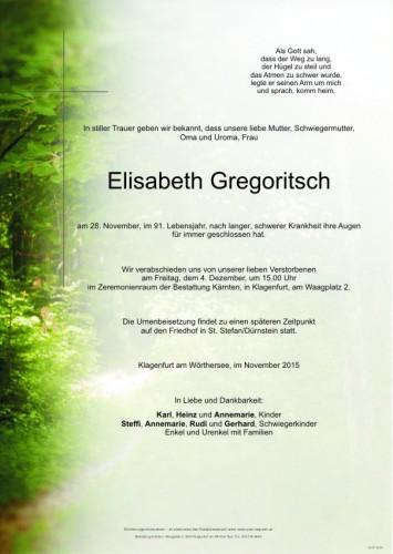 Elisabeth Gregoritsch